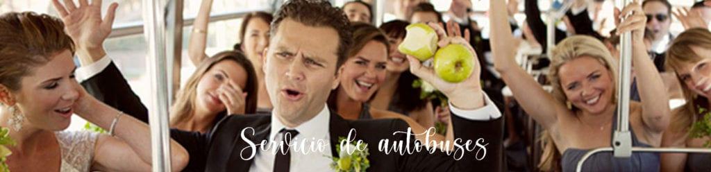 Servicio de autobuses para bodas sevilla