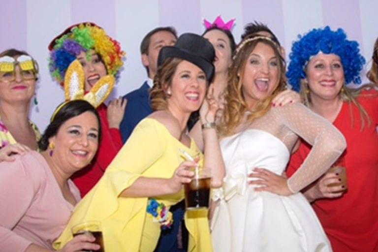 Fotomatón para bodas Sevilla